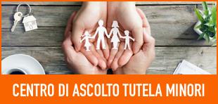 Banner Centro di ascolto tutela minori